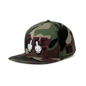 Czapka Cayler & Sons WHITE LABEL Seriously Cap woodland / black