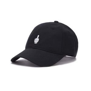 Czapka Cayler & Sons WL Off Curved Cap black/white