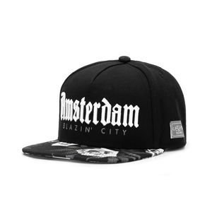 Czapka Cayler & Sons White Label Amsterdam Cap black