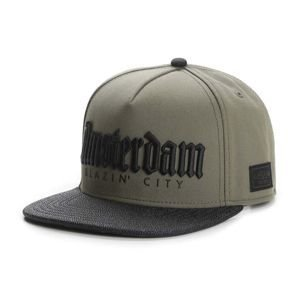 Czapka Cayler & Sons White Label Amsterdam Cap olive