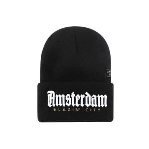 Czapka Cayler & Sons White Label Amsterdam Old School Beanie black