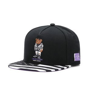 Czapka Cayler & Sons White Label Purple Swag Cap black