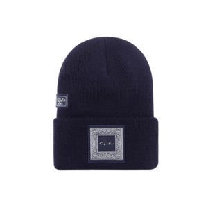 Czapka Cayler & Sons White Label Westcoast Old School Beanie navy