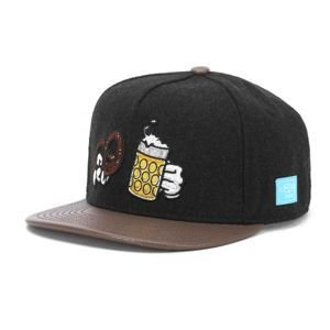 Czapka Cayler & Sons White Label Wiesn 2017 Cap dark grey / brown
