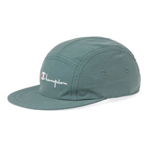 Czapka Champion 5panel Logo Reverse Weave Cap green