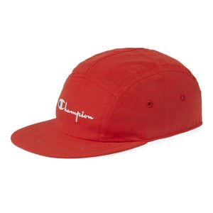 Czapka Champion 5panel Logo Reverse Weave Cap red