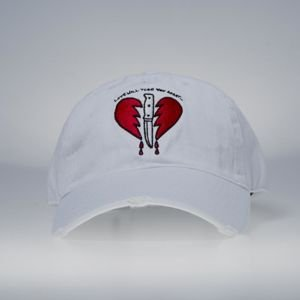 Czapka GLD Love Will Tear You Apart Strapback Cap white