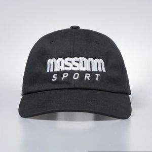 Czapka Mass Denim Strapback Stripe Sport Cap black QUICKSTRIKE