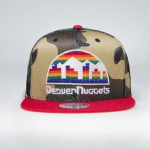 Czapka Mitchell & Denver Nuggets Woodland Snapback Cover camo