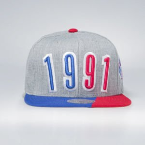 Czapka Mitchell & Ness All Star 1991 Snapback grey Portion Snapback