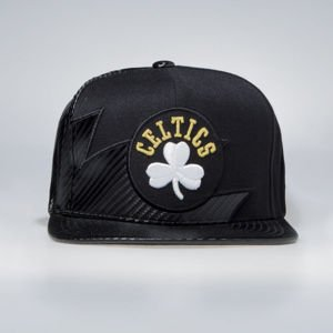 Czapka Mitchell & Ness Boston Celtics Snapback Cap black NBA Kevlar Sharktooth Snapback