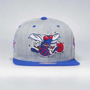 Czapka Mitchell & Ness Charlotte Hornets All Star 1991 Snapback Cap grey The Score Snapback
