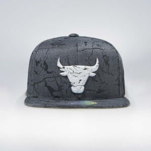 Czapka Mitchell & Ness Chicago Bulls Marble Snapback charcoal