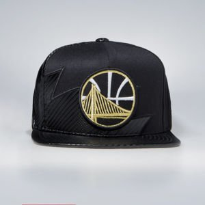 Czapka Mitchell & Ness Golden State Warriors Snapback Cap black NBA Kevlar Sharktooth Snapback