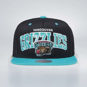 Czapka Mitchell & Ness Vancouver Grizzlies Snapback Cap black / teal Team Arch
