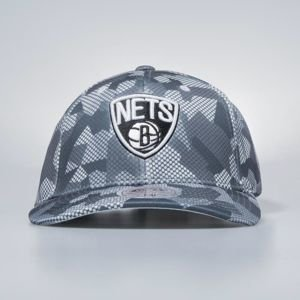 Czapka Mitchell & Ness flexfit slouch Brooklyn Nets grey Carbon Camo