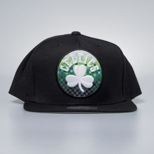 Czapka Mitchell & Ness snapback Boston Celtics black Easy Three Digital XL