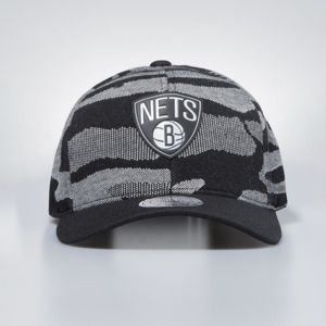 Czapka Mitchell & Ness snapback Brooklyn Nets black Camo Knit 110