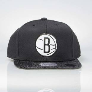 Czapka Mitchell & Ness snapback Brooklyn Nets black INTL042 Ultimate