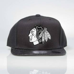 Czapka Mitchell & Ness snapback Chicago Blackhawks black INTL042 Ultimate
