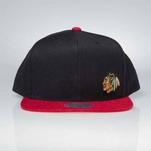 Czapka Mitchell & Ness snapback Chicago Blackhawks black Little Logo