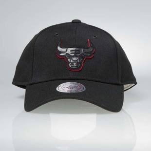 Czapka Mitchell & Ness snapback Chicago Bulls black Filter 2.0