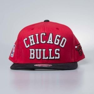 Czapka Mitchell & Ness snapback Chicago Bulls red Wordmark Jersey Hook