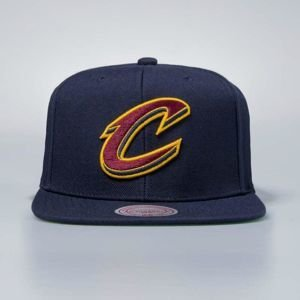 Czapka Mitchell & Ness snapback Cleveland Cavaliers black Wool Solid / Solid 2