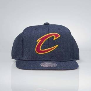 Czapka Mitchell & Ness snapback Cleveland Cavaliers navy INTL034 Team Heather