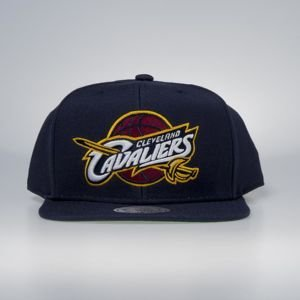 Czapka Mitchell & Ness snapback Cleveland Cavaliers navy Wool Solid / Solid 2