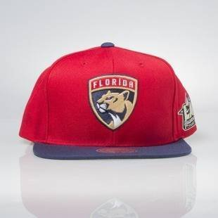 Czapka Mitchell & Ness snapback Florida Panthers red / navy All Star Game 2Tone 464VZ