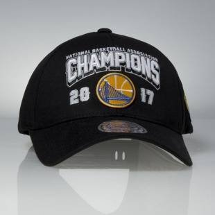 Czapka Mitchell & Ness snapback Golden State Warriors black 2017 NBA Champions