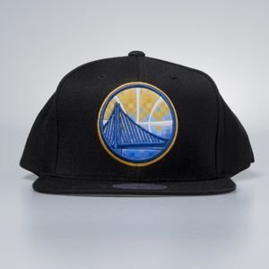 Czapka Mitchell & Ness snapback Golden State Warriors black Easy Three Digital XL