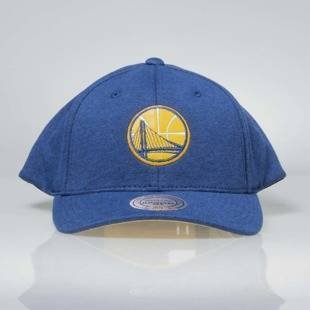 Czapka Mitchell & Ness snapback Golden State Warriors blue INTL046 Sweat