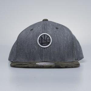 Czapka Mitchell & Ness snapback Golden State Warriors charcoal / camo Trench 110
