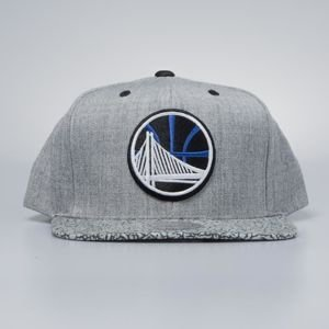 Czapka Mitchell & Ness snapback Golden State Warriors grey / black Elephant Crack