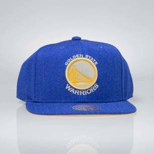 Czapka Mitchell & Ness snapback Golden State Warriors royal INTL034 Team Heather