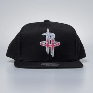 Czapka Mitchell & Ness snapback Houston Rockets black Easy Three Digital XL