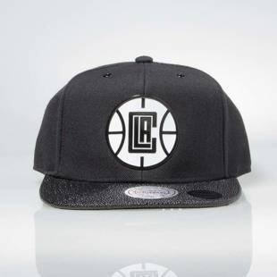 Czapka Mitchell & Ness snapback Los Angeles Clippers black INTL042 Ultimate