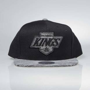 Czapka Mitchell & Ness snapback Los Angeles Kings black / black Motion