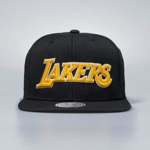 Czapka Mitchell & Ness snapback Los Angeles Lakers black Wool Solid / Solid 2