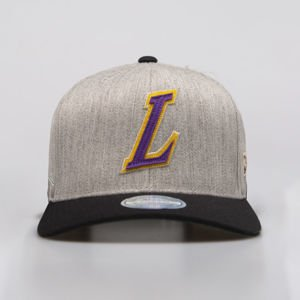 Czapka Mitchell & Ness snapback Los Angeles Lakers grey / black Hometown Snapback