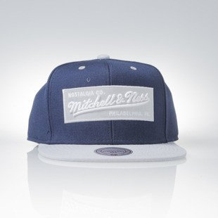 Czapka Mitchell & Ness snapback M&N Own Brand navy / grey Box Logo