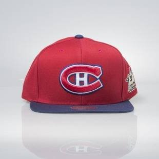 Czapka Mitchell & Ness snapback Montreal Canadiens red / navy All Star Game 2Tone 464VZ
