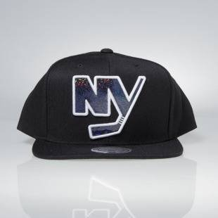 Czapka Mitchell & Ness snapback New York Islanders black Dark Hologram