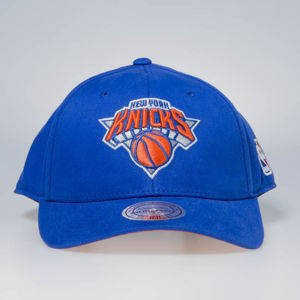 Czapka Mitchell & Ness snapback New York Knicks blue Flexfit 110 Low Pro
