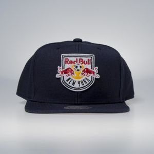 Czapka Mitchell & Ness snapback New York Red Bulls navy Wool Solid / Solid 2