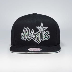Czapka Mitchell & Ness snapback Orlando Magic black Dark Hologram II