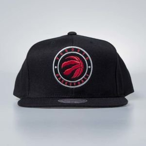 Czapka Mitchell & Ness snapback Toronto Raptors black Twill Circle Patch