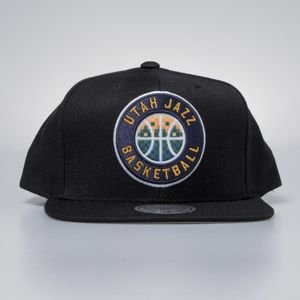 Czapka Mitchell & Ness snapback Utah Jazz black Easy Three Digital XL